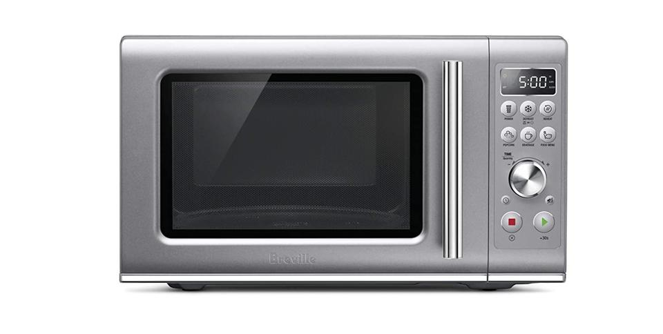 Breville BmO650SIL Compact Wave Soft Close Microwave