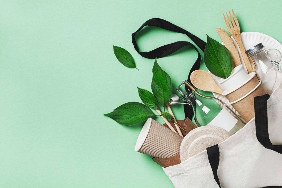 Reusable and recyclable takeout utensils