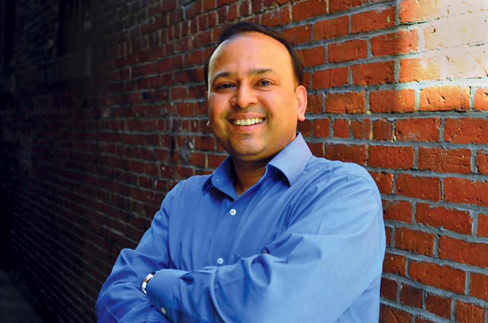 Vikram Aggarwal with arms folded