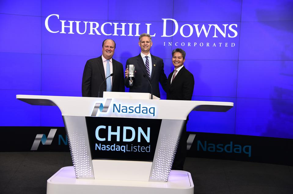 Churchill Downs Incorporated Rings The NASDAQ Closing Bell