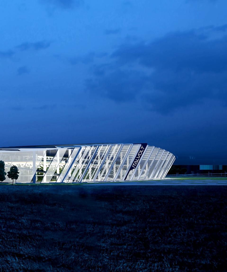Design icon Pininfarina Architecture has stepped in to design Italvolt's gigafactory.