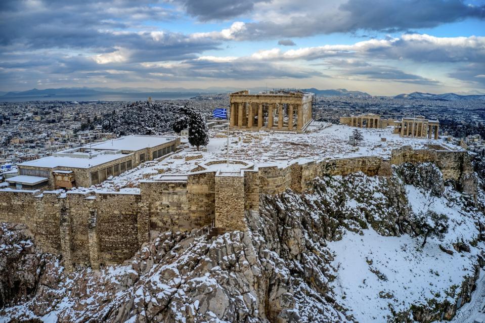 APTOPIX Greece Weather