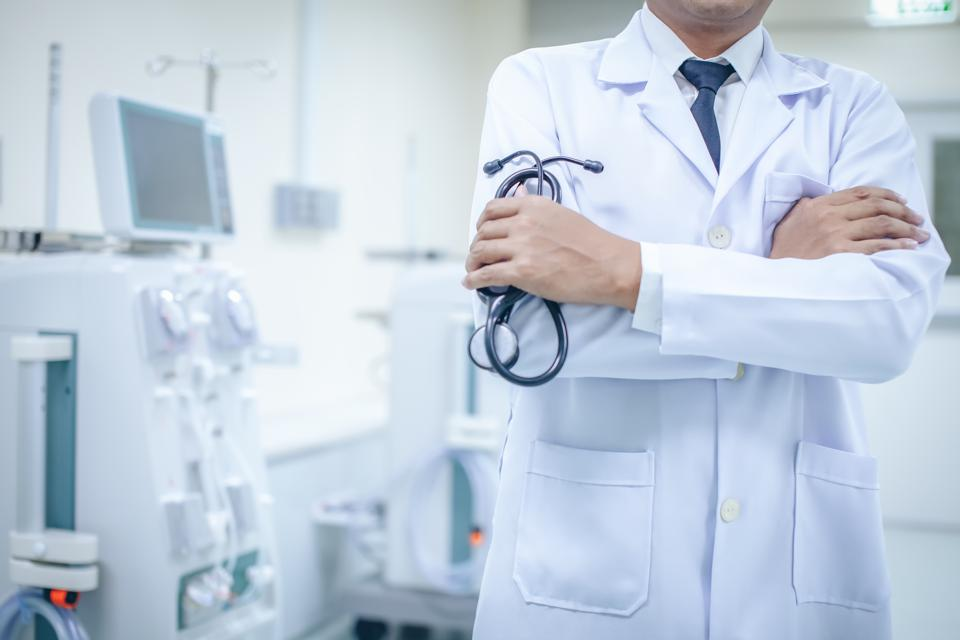 Doctors and Stethoscope in hospitals