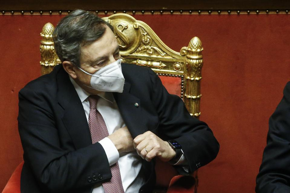 Italy's New PM Draghi Looks To Secure Senate Vote