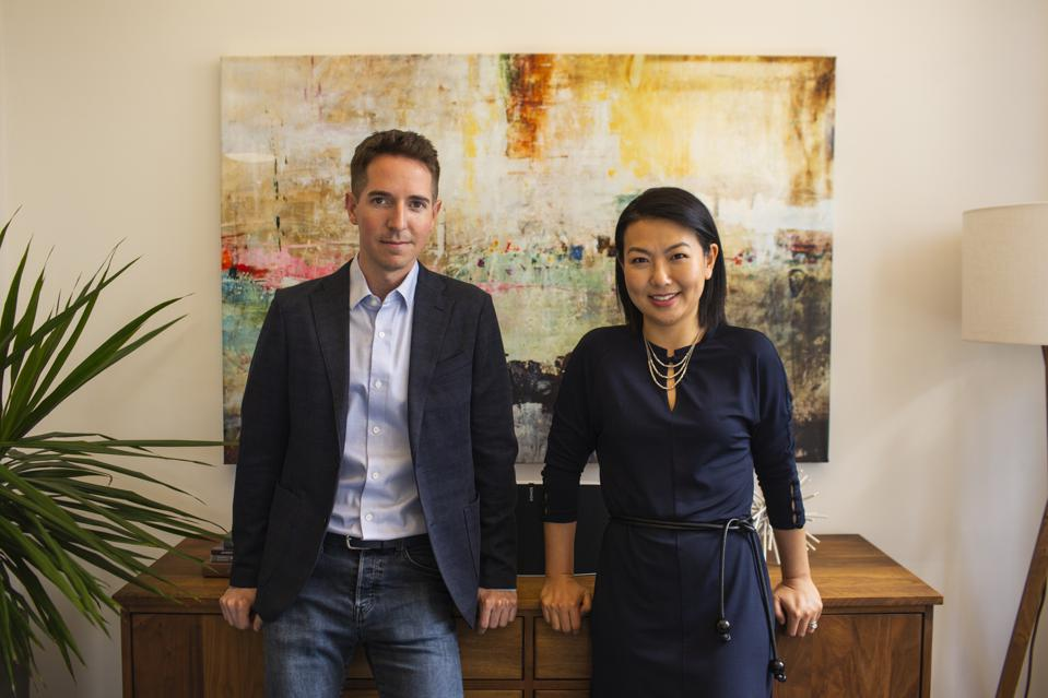 Glenn Rockman (left) and Jenny Yip (right) are co-Founders of Adjuvant Capital, both under 40 years old.