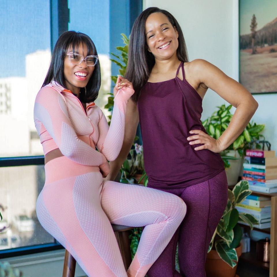 Serial entrepreneurs Alechia Reese and Dr. Sanaa Jaman