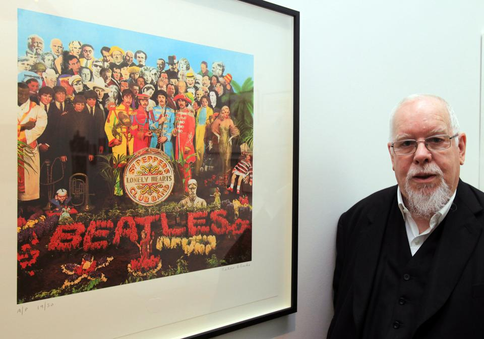 Artist Peter Blake Reopens The Holburne Museum