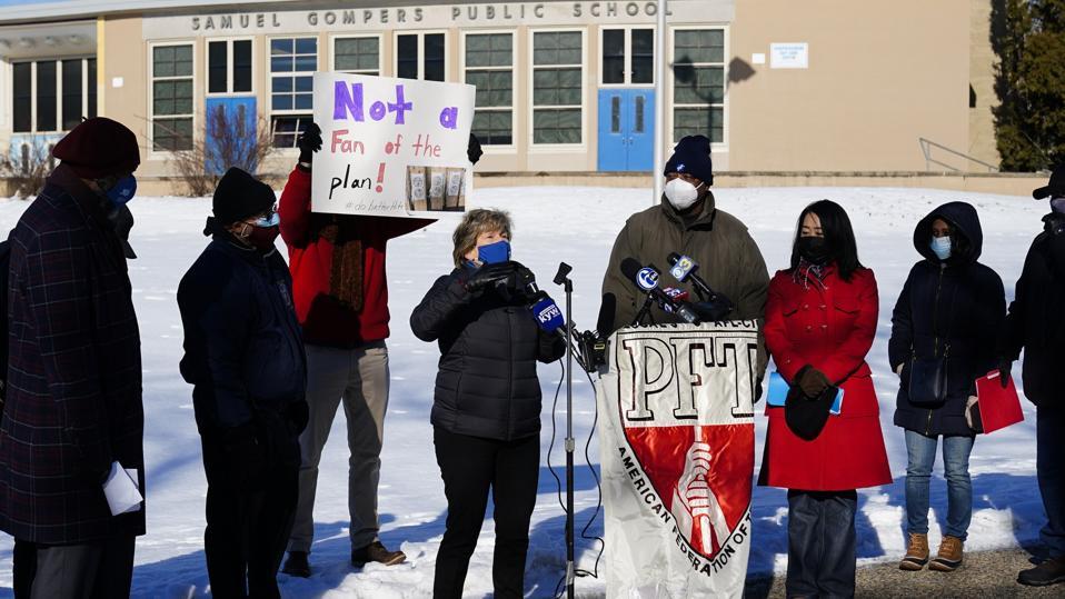Virus Outbreak Philadelphia Schools