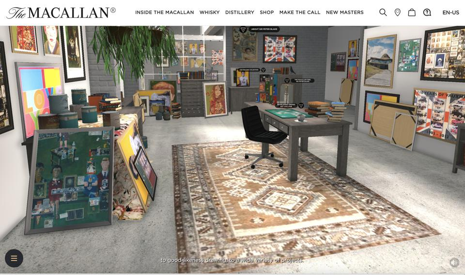 The Macallan Anecdotes of Ages Virtual Art Exhibit