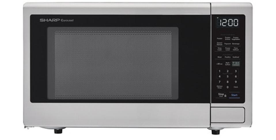 Sharp Stainless Steel Smart Carousel Countertop Microsoft Oven (SMC1449FS)
