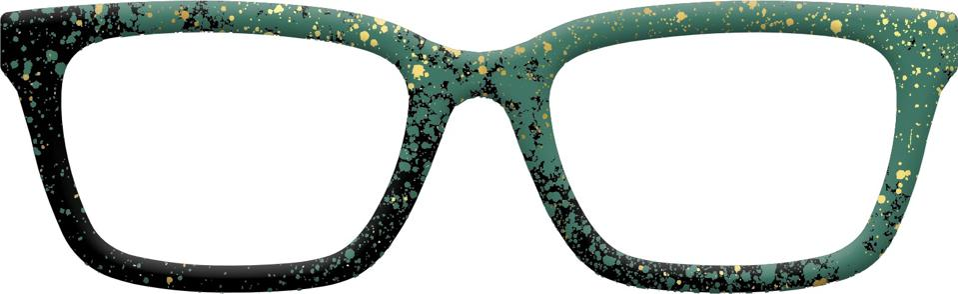 The Green Splatter by Pair Eyewear