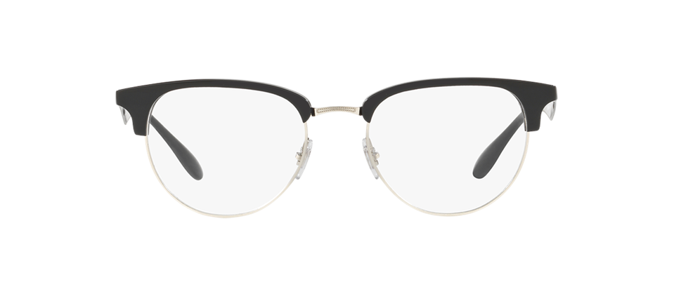 RAY-BAN RX6396 frames in black and silver