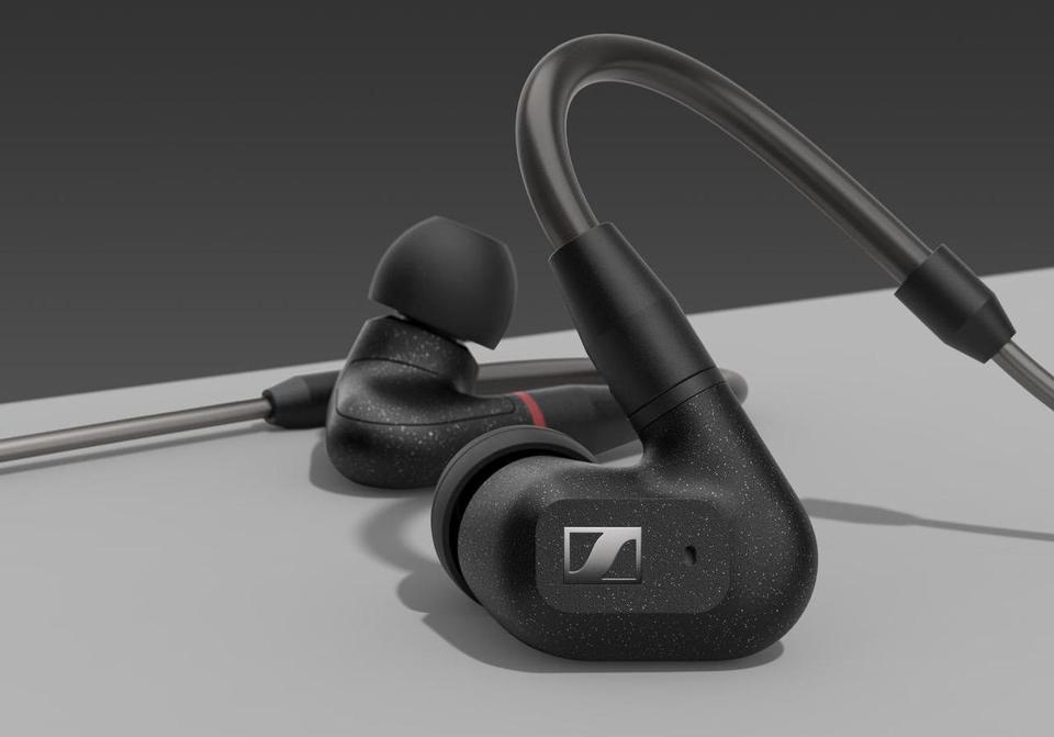 Close up of Sennheiser IE300