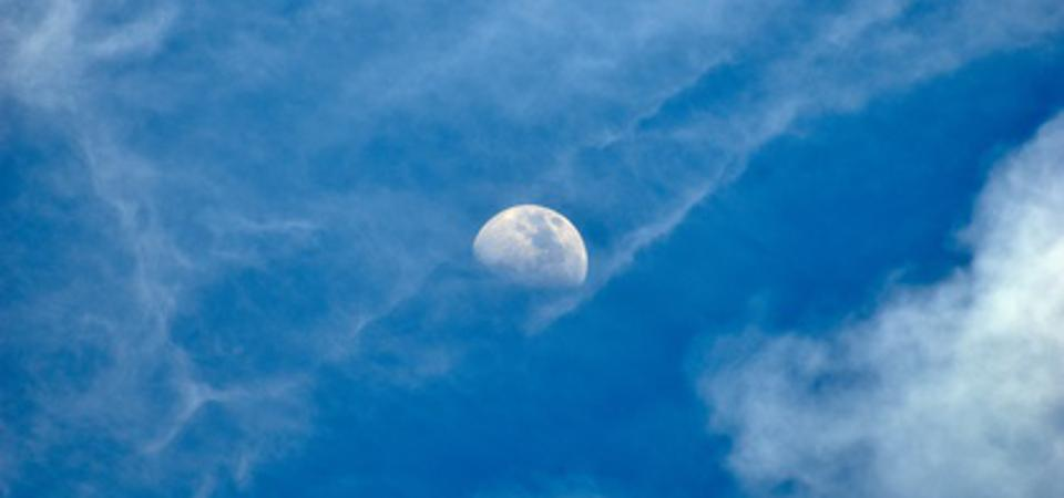 A First Quarter Moon will be visible in the afternoon this coming week in the eastern daytime sky as its waxes towards being a ″Full Snow Moon.″