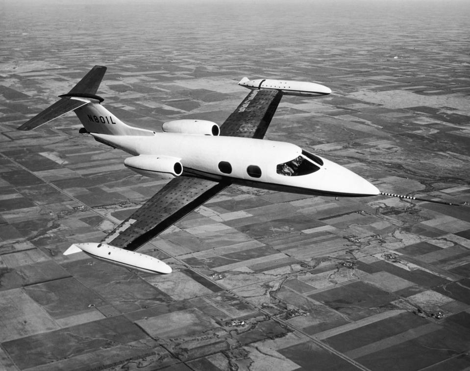 Pre-Production Learjet 23 jet