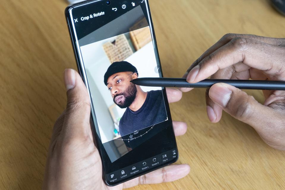 Muy fácil de usar con Adobe Lightroom S Pen.