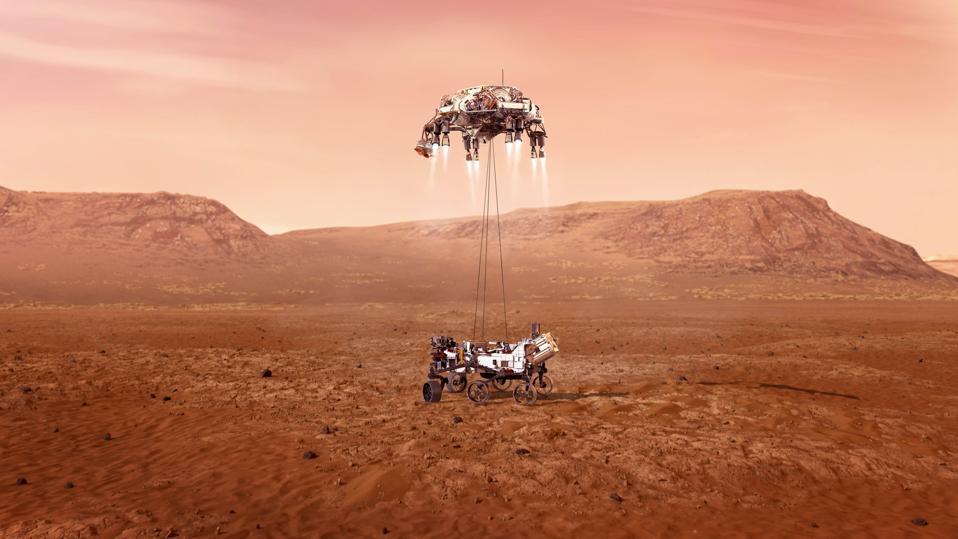 U.S.-NASA-PRESEVERANCE ROVER-LANDING