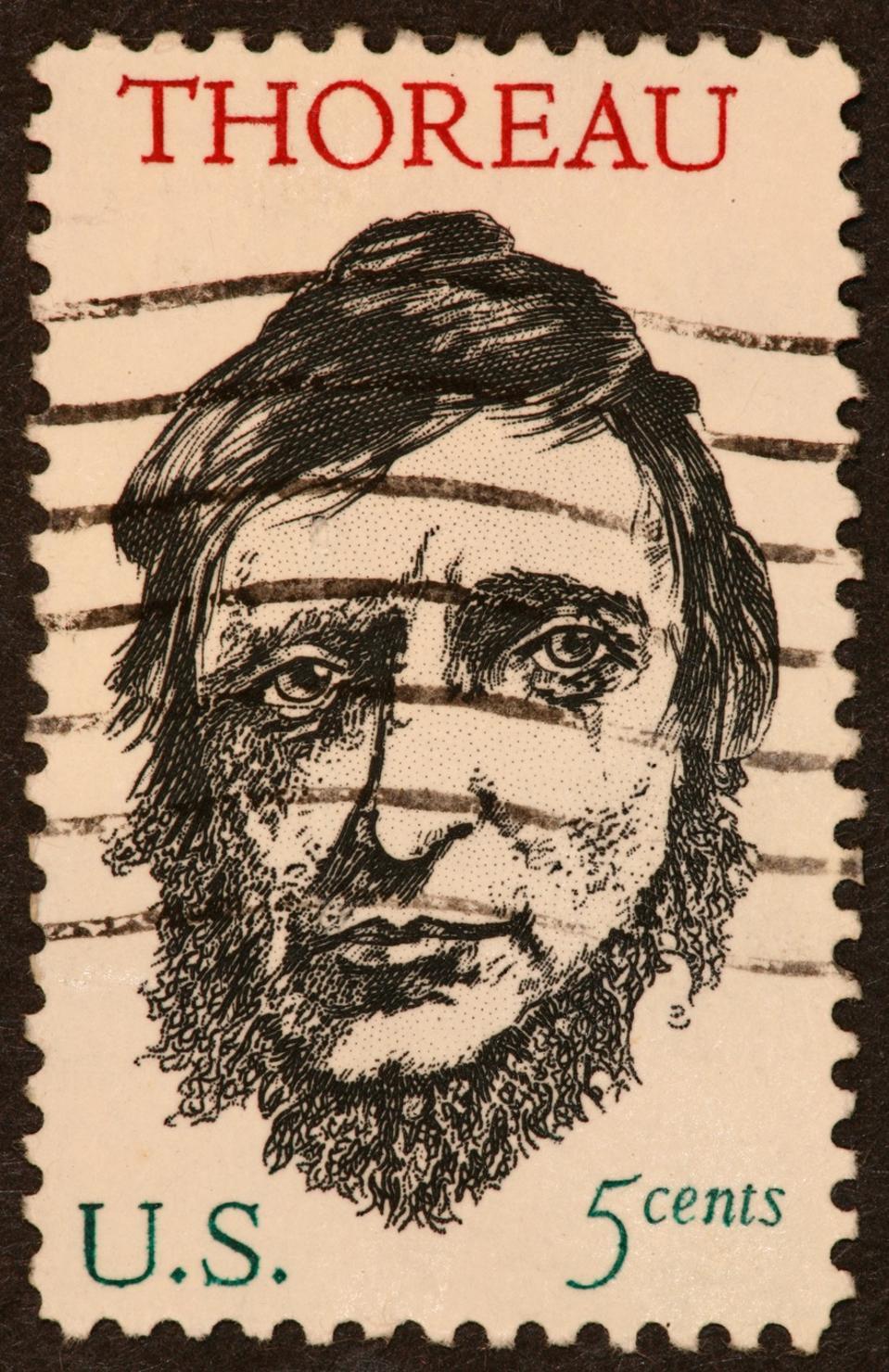 Thoreau stamp 1960's