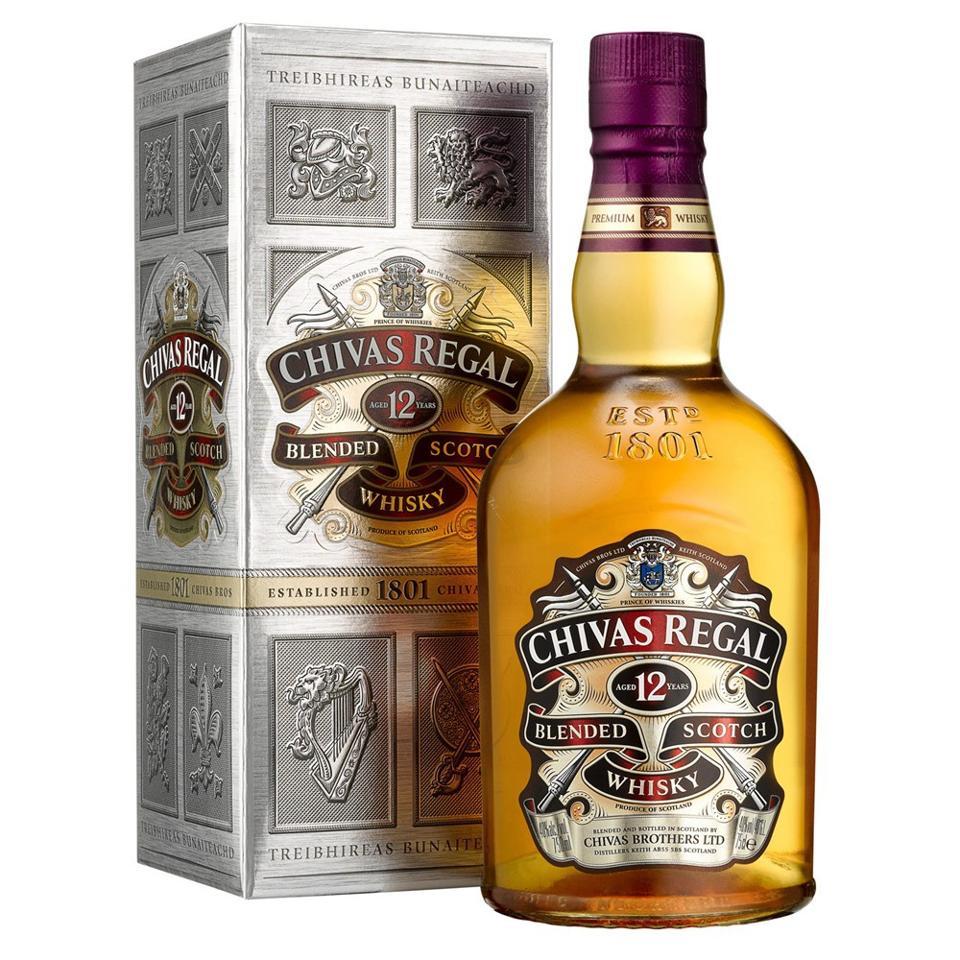 Chivas Regal, 12 YO, Blended Scotch Whisky