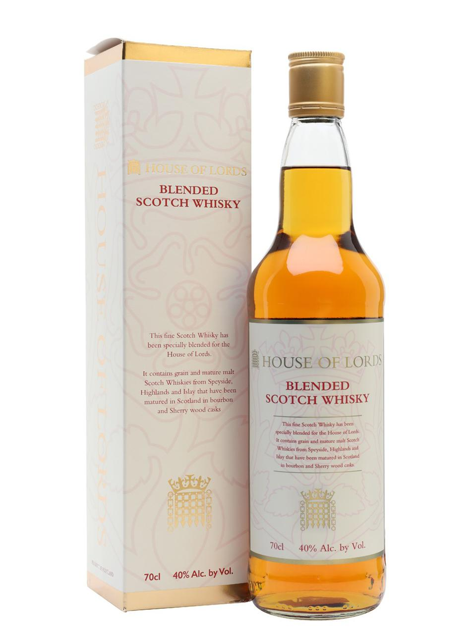 House of Lords, Blended Scotch Whisky