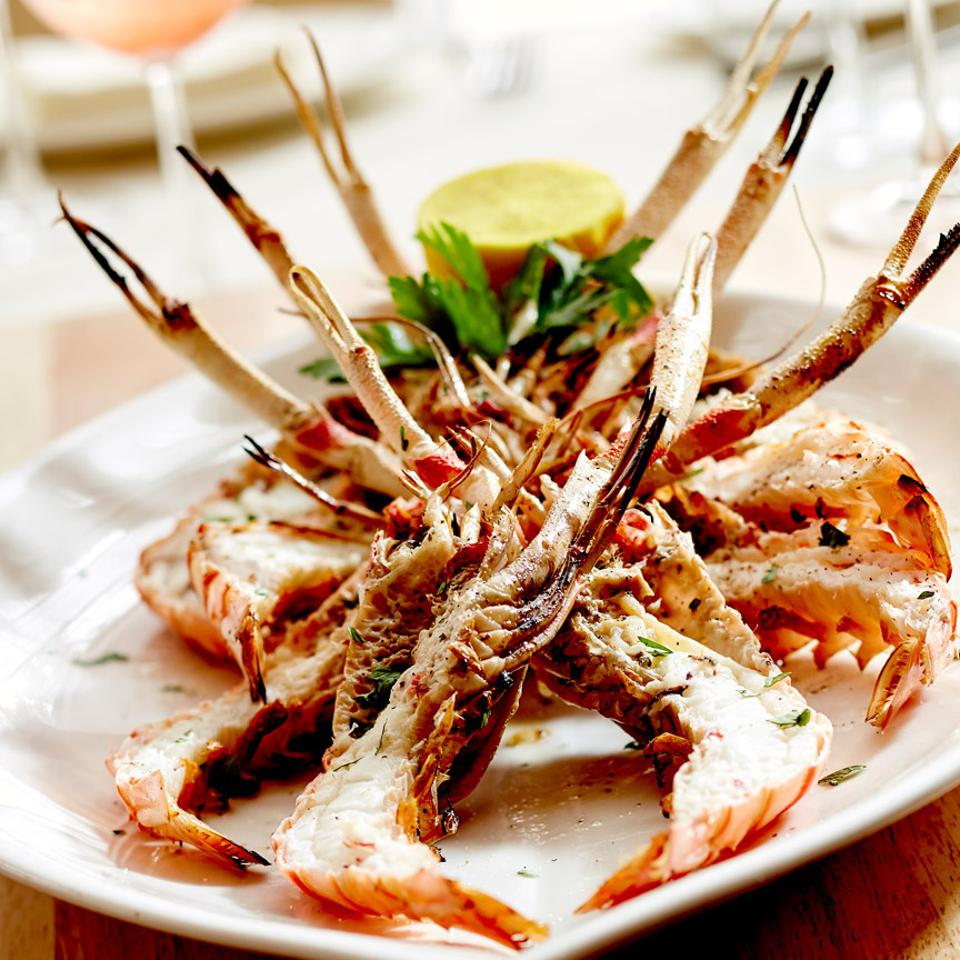Mediterranean seafood at Limani comes with a presentation as pleasing as the taste.