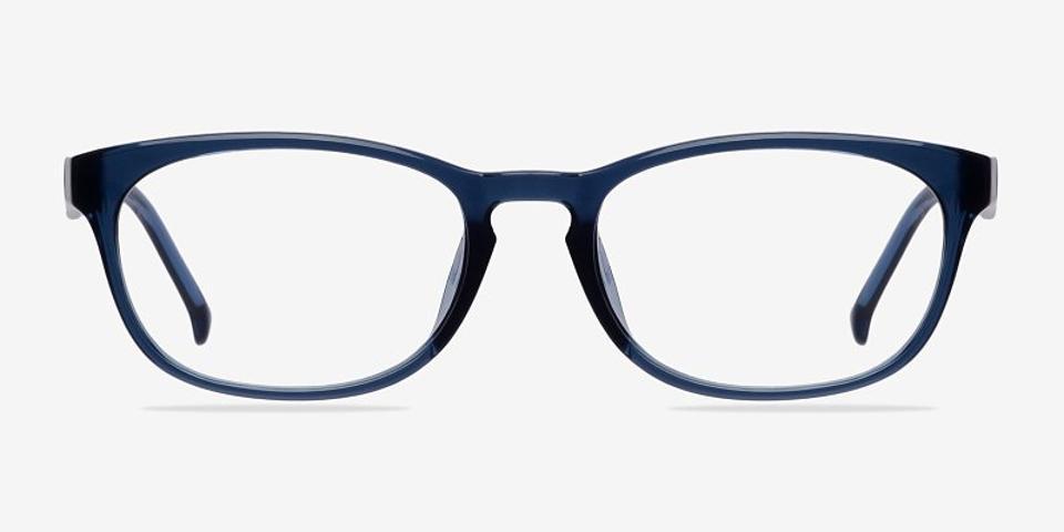 Drums Oval Blue Eyeglasses