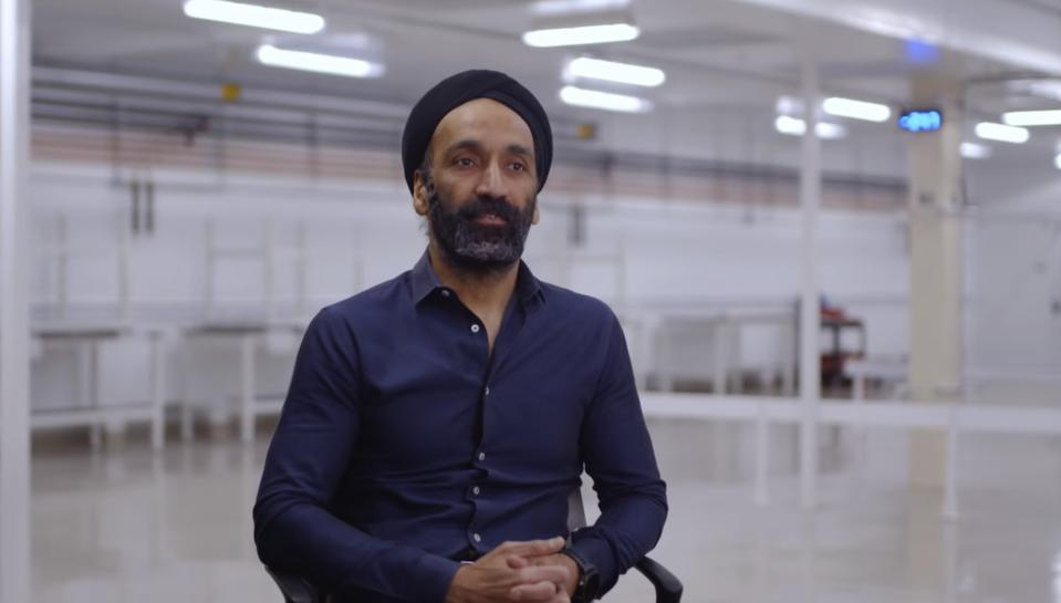 Jagdeep Singh, Co-founder and Chief Executive Officer of QuantumScape.