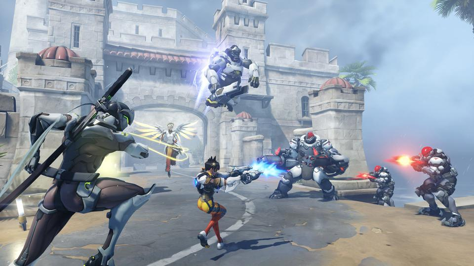 Overwatch Storm Rising event