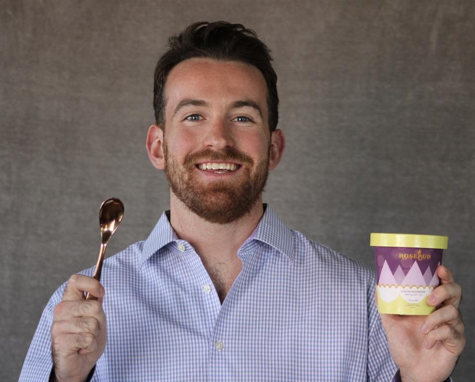 Sam Rose, founder of RoseBud Ice Cream