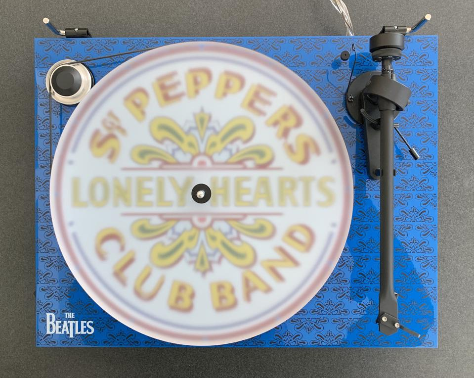 Pro-Ject Essential III Beatles turntable review