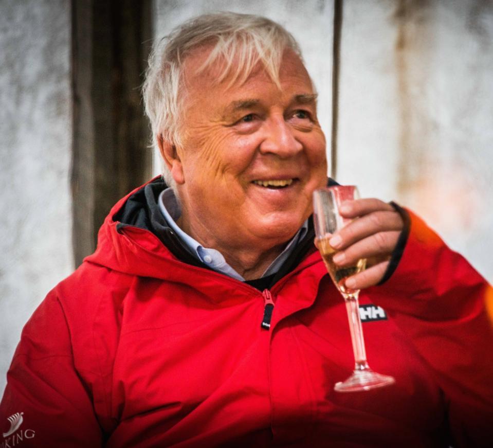 Torstein Hagen from Viking Cruises