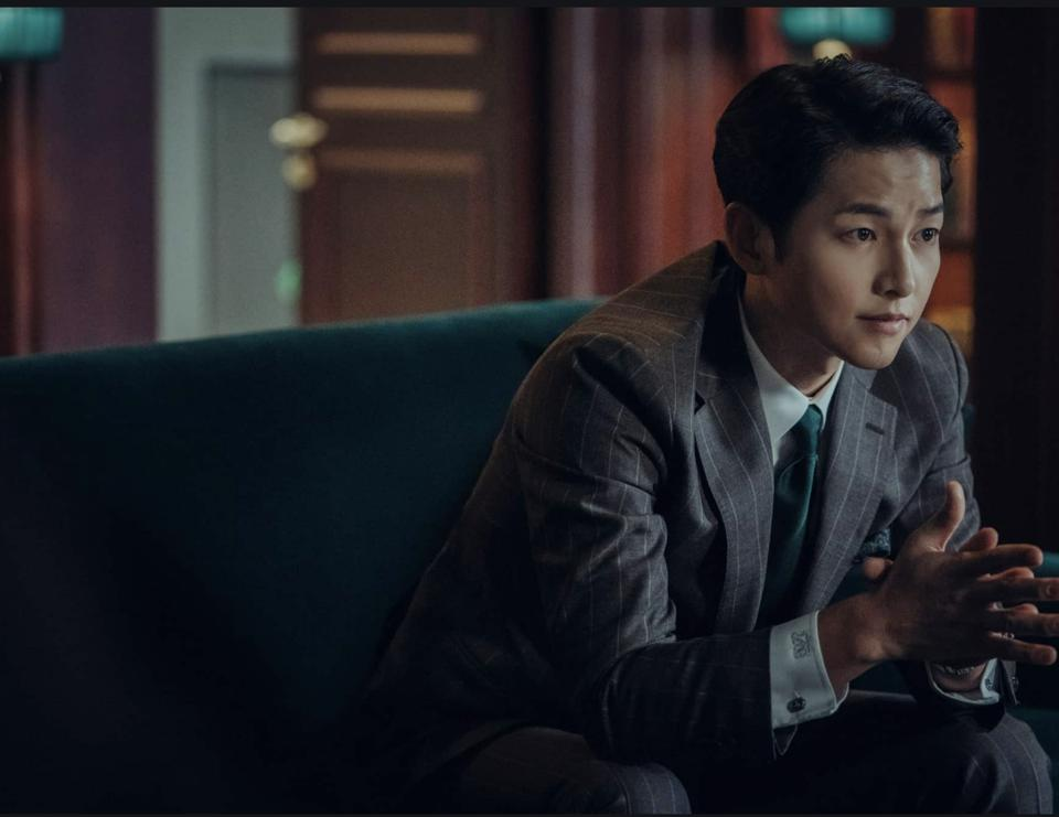 Song Joong-ki plays a lawyer to the mob in 'Vincenzo.'