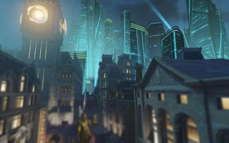 Overwatch map King's Row