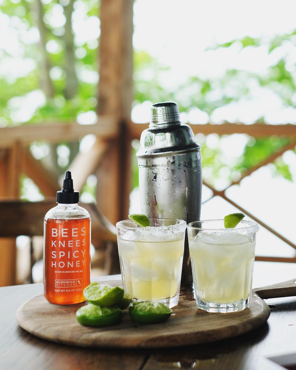 Spicy Honey Margarita