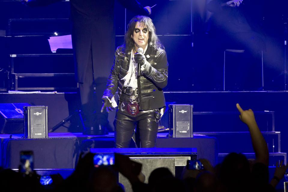 Alice Cooper Performs In Berlin