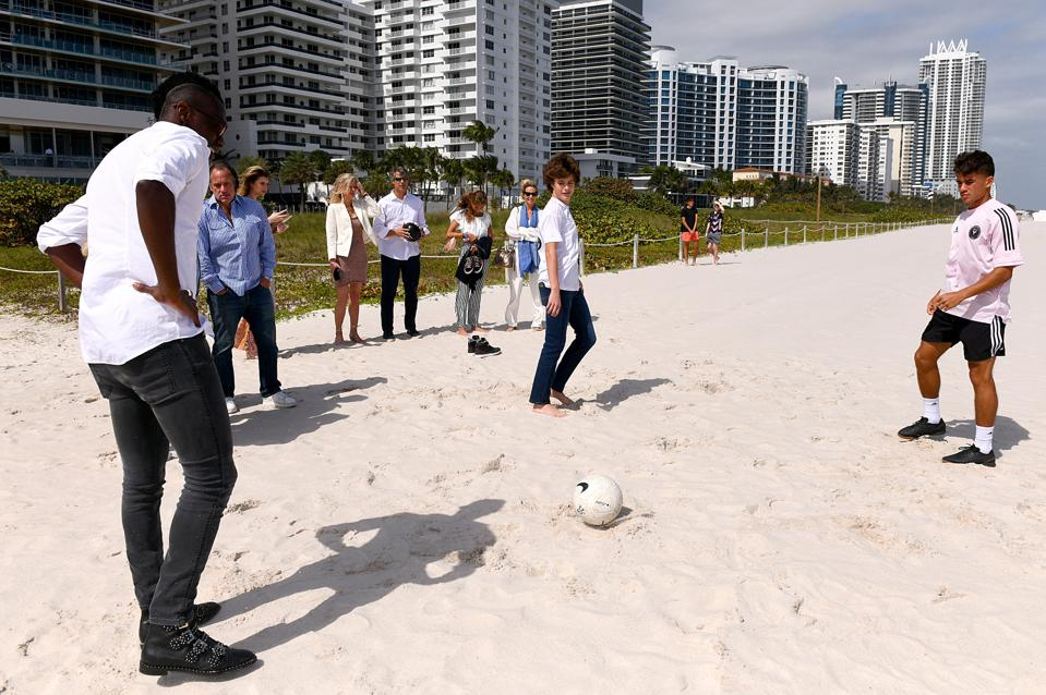 Haute Living And Ulysse Nardin Celebrate World Cup Champion Blaise Matuidi At 57 Ocean Miami