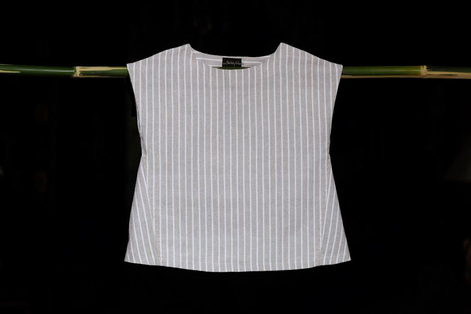 Limited edition striped top by HOLICOW's Debbie Palao at Disenyo del Sur