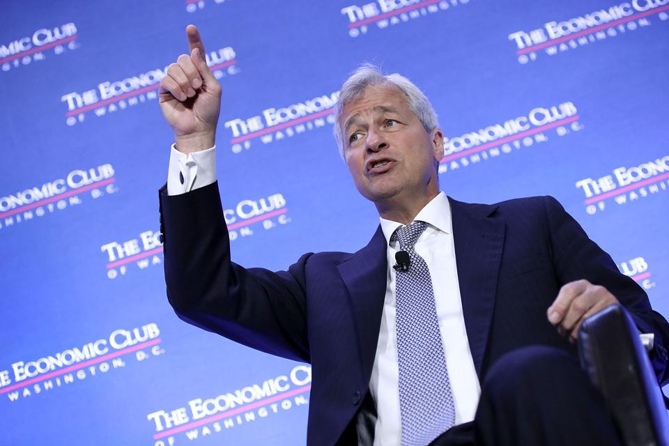 Chase CEO Jamie Dimon Addresses The Economic Club Of Washington