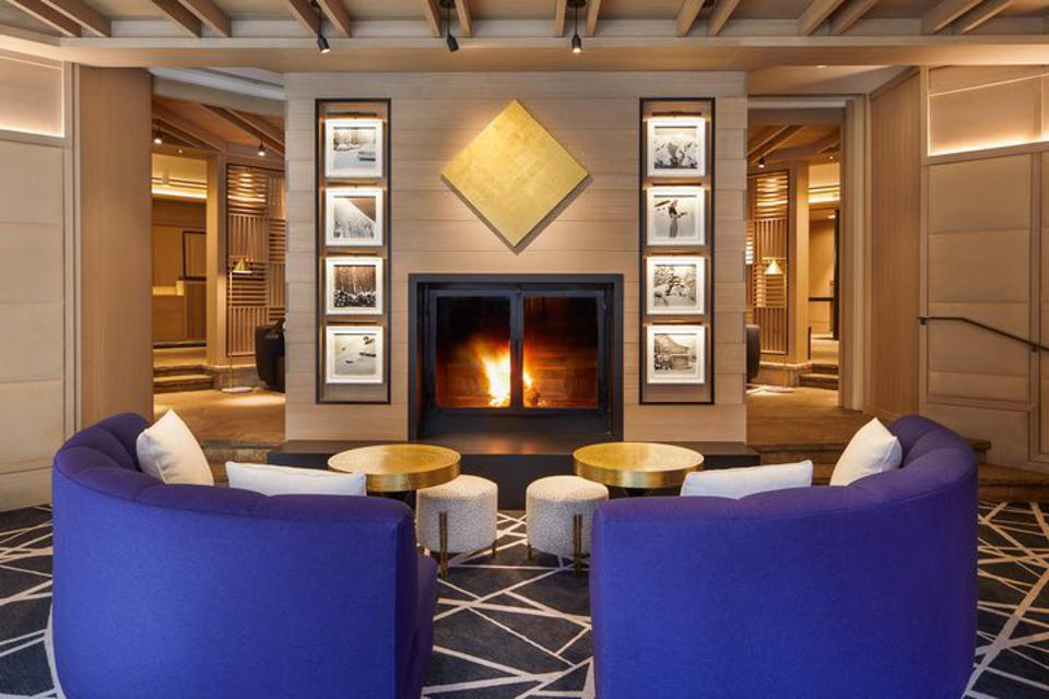 Aspen's The Little Nell Hotel is the personification of the two things Paula Crown's is an expert at, art and business.