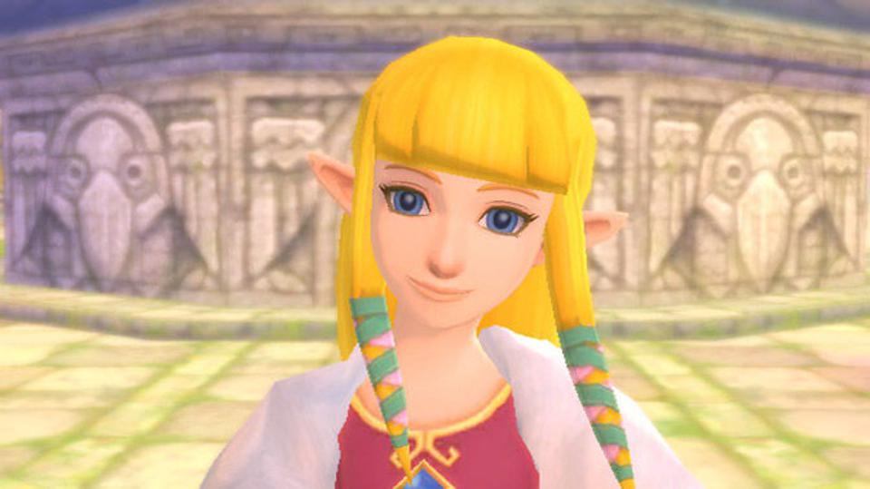 Princess Zelda in Skyward Sword