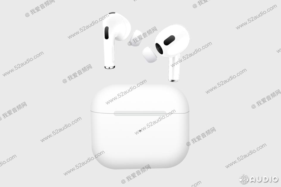 Another alleged image of AirPods 3.