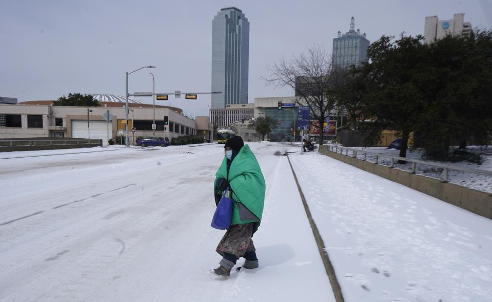 Winter Weather Texas Deepfreeze