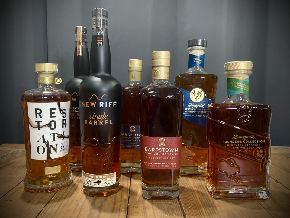 A few of the exciting and innovative new whiskeys on Kentucky's block include Rabbit Hole, Castle & Key, New Riff, and Bardstown Bourbon Company.