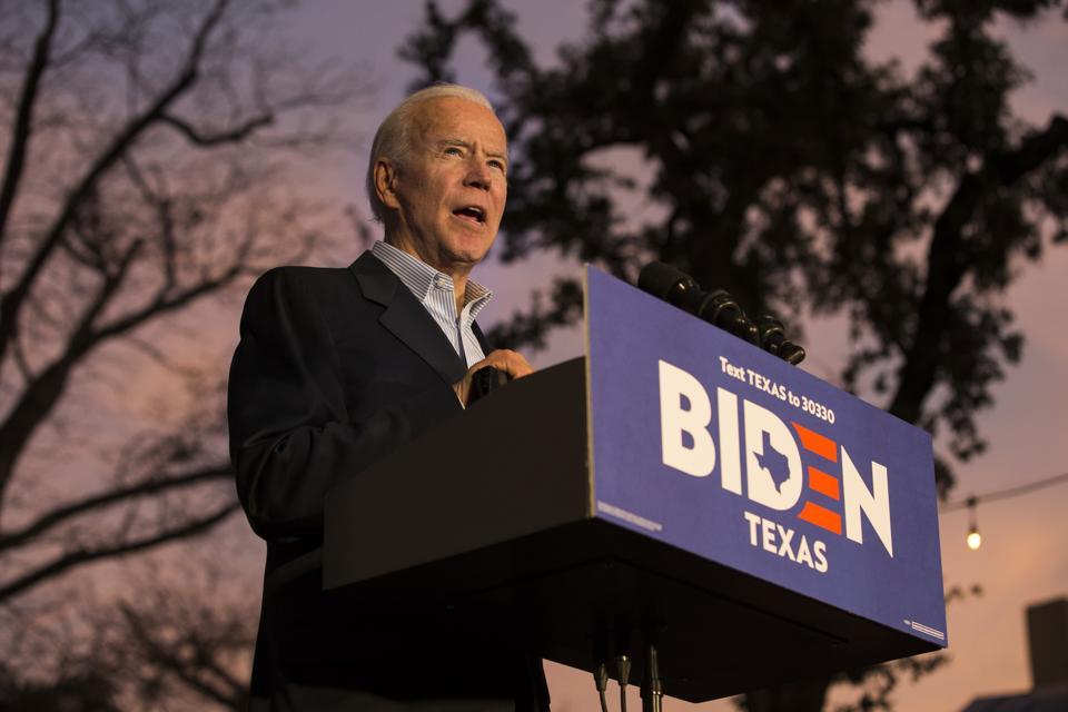 Presidential Candidate Joe Biden Campaigns In San Antonio, Texas