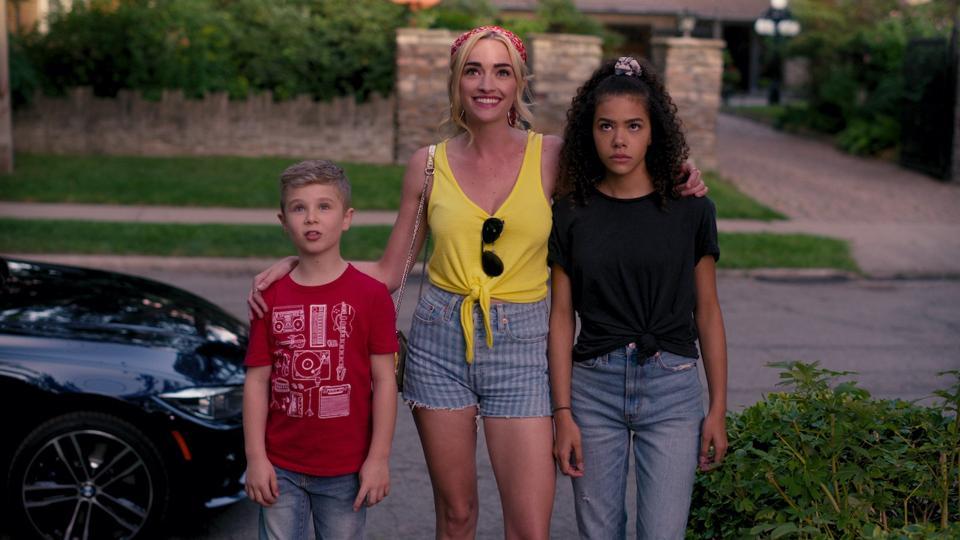 Diesel La Torraca, Brianne Howey and Antonia Gentry star in the upcoming series 'Ginny & Georgia' on Netflix.