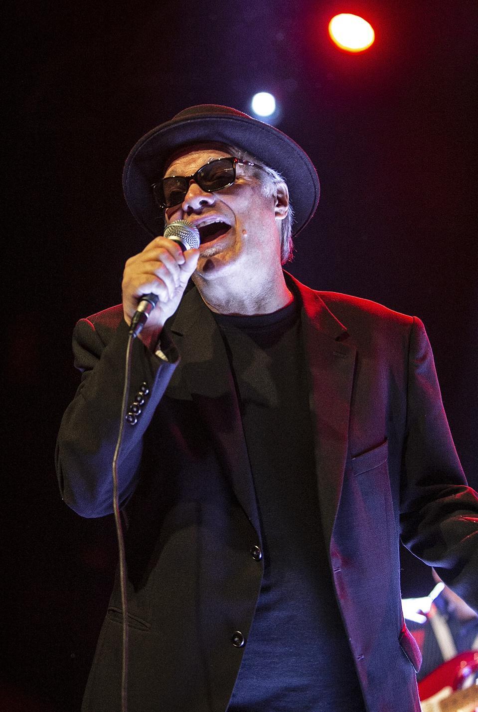 Curtis Salgado performing on stage