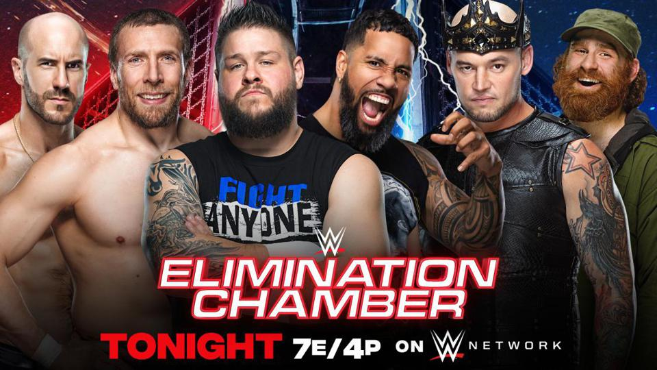 WWE SmackDown Elimination Chamber