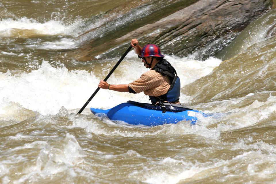 New River Kayaker