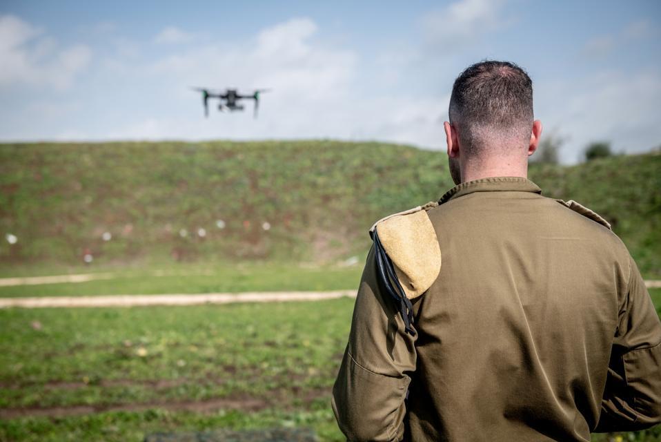 IDF drone, IDF, Israel, Golan Heights, Syria, drones,