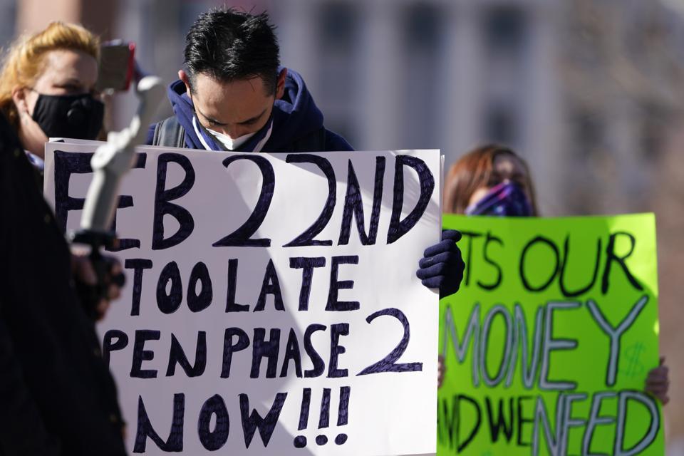 Unemployment Rally Colorado